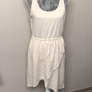 Synergy organic clothing women's beige dress